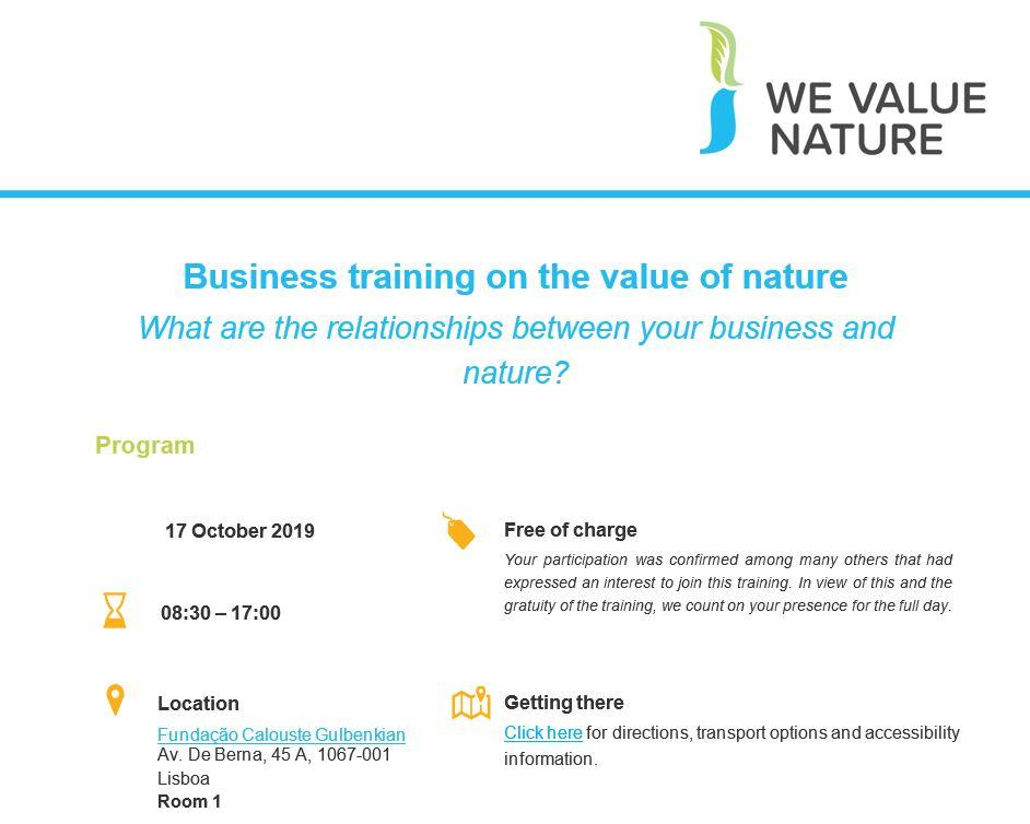A  facilitator agenda for a half day delivery of the We Value Nature Module 1. The agenda includes preparation, materials, and a step-by-step guide of activities for the training.