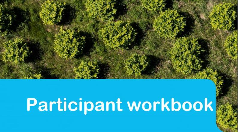 Participant workbook for delivering We Value Nature Module 1 as a full day training event.