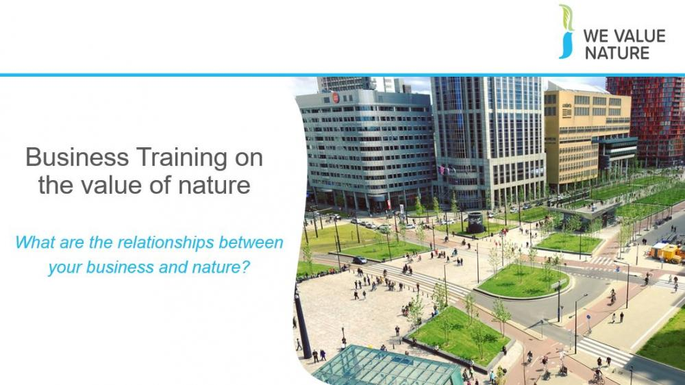 A  PowerPoint slide deck for delivering We Value Nature Module 1 as a two hour training event.