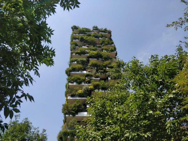 Bosco Verticale residential towers